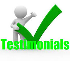 Colorful Testimonials Cartoon Image